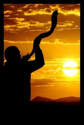 shofar-man