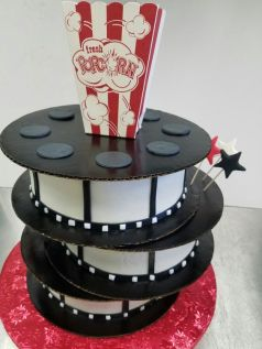 Movie Time Cake
