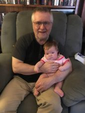 Peter and grandbaby